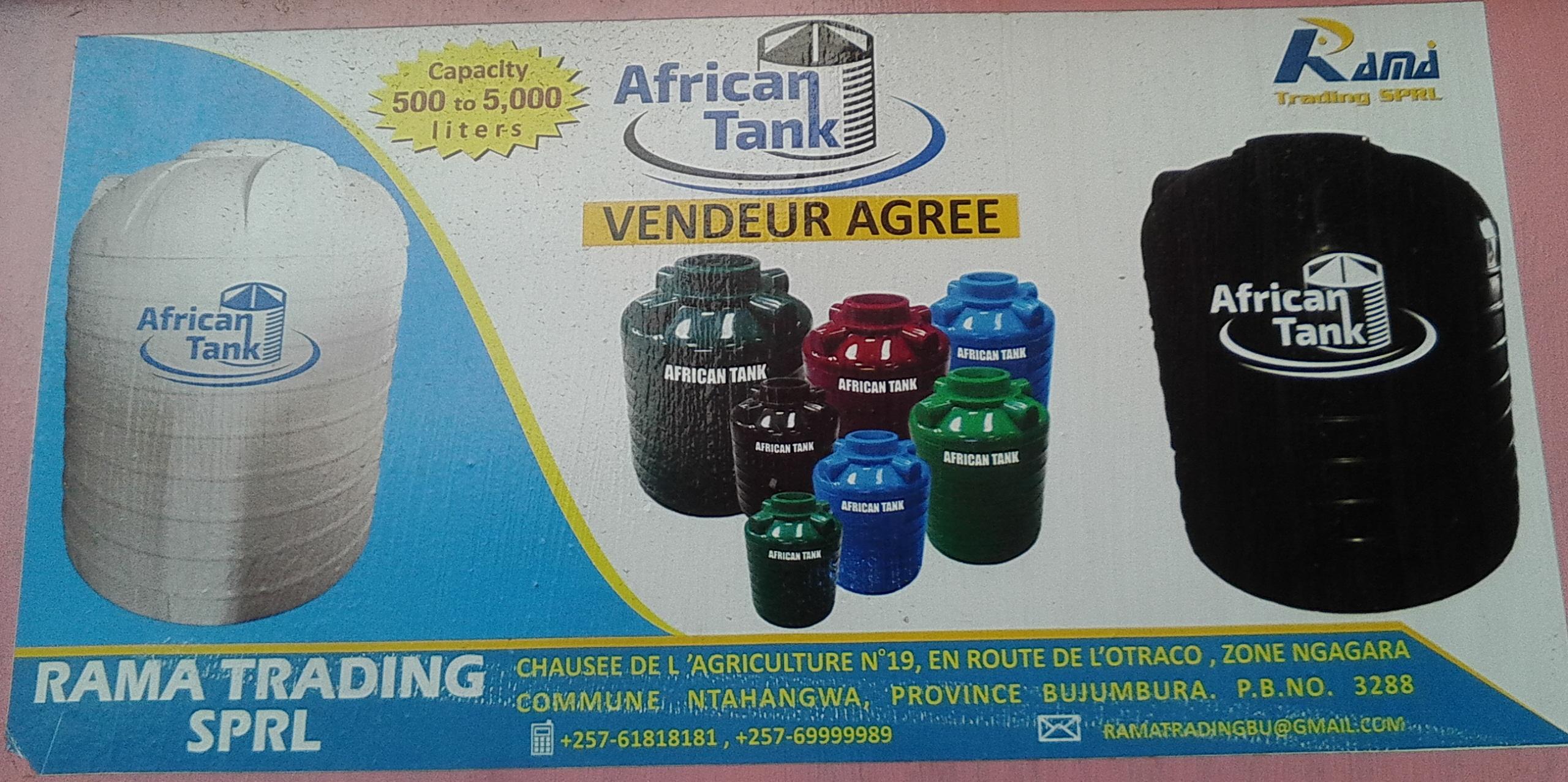 African tank ngagara